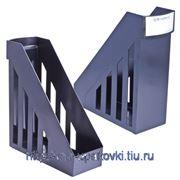 Стойка-угол для бумаг и журналов BRAUBERG-MAXI ширина 100 мм, черная, 231050 ПЛС фото
