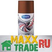 """Грунт-аэрозоль универсальный коричневый 520 мл, """"VIXEN"""" /Астрохим/ VX-21003 фото"""
