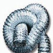 Гибкие алюминиевые воздуховоды не изолированные МЕ диаметр 356 мм фото
