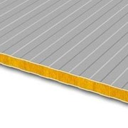 Стеновая сэндвич-панель ТИП V (ППС 60 мм / РЕ-РЕ) фото