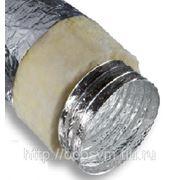 Воздуховод гибкий d-254 изолированный фото