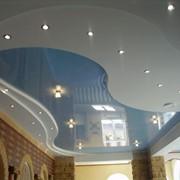 Дизайн натяжных потолков фото