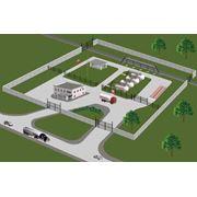 Станции автомобильные газонаполнительные компрессорные (АГНКС) фото