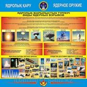 Стенд Ядерное оружие фото