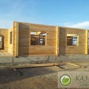 Деревянные дома в Казахстане фото