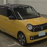 Хэтчбек турбо HONDA N ONE кузов JG2 4WD Premium Tourer L Package AWD гв 2013 пробег 85 т.км желтый черный фото