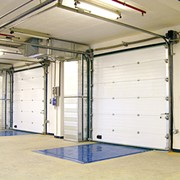 Промышленные секционные ворота DoorHan серии ISD01 фото