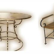 Кованая мебель в Молдове фото