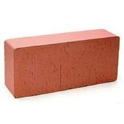 Кирпич керамический Эталон облицовочный полнотелый красный гладкий М-250 фото