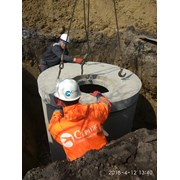 Монтажу систем наружной канализации фото