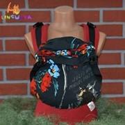 Рюкзак-переноска для детей Акварель фото