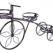 Подставка для цветов Велосипед-3 антик фото