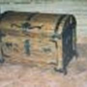 Сундук деревянный фото