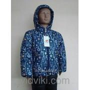 Куртка зимняя прямая унисекс фото