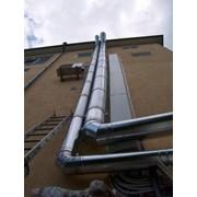 Системы вентиляции, дымоходы. фото