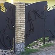 Воротные системы, ворота кованые фото