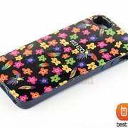 Накладка iPhone 5S KENZO (гелевый) Цветы №29 73185ab фото