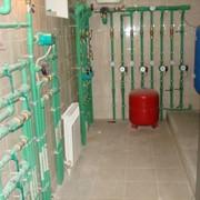 Установка электрических систем отопления фото