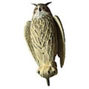 Чучело филина с крыльями большое (серый) (6 шт./уп.) фото