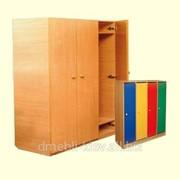 Шафа дитяча 4-х дверна для роздягання 1040х330х1400 фото