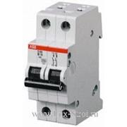 Автомат ABB 2-полюсной 4,5кА 6 ампер фото