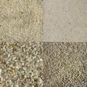 Кварцевый песок для пескоструйной обработки от 0,2 до 2,0 мм фото