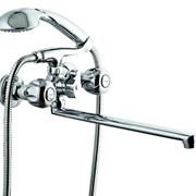 Смеситель для ванной двуручковый QSL-735 фото
