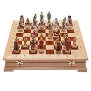 Шахматы Древний Рим И Греция Стаунтон Береза 4 фото