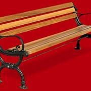 Деревянная скамья Concerto фото