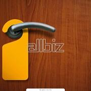 Информационная карточка на ручку двери фото