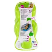 Горка для ванной ТИЖЕКС (TIGEX) анатомическая зеленая фото