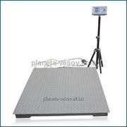 Весы платформенные усиленные 2000 кг 1200х1200 Планета Весов™ 4 тензодатчика фото
