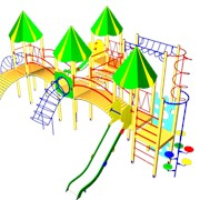 Оборудование для детских площадок фото