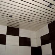 Реечный потолок S дизайн фото
