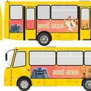 Дизайн рекламы на транспорте фото