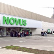 "Реклама в супермаркетах ""NOVUS"" фото"