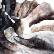 Шкурка кролика-разный цвет фото
