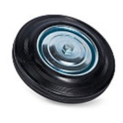 Колесо литая резина C46 (C-100х12х26-SLS) 100 мм фото