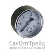 """Манометр 1/4"""" горизонтальный (аксиальный) 16 бар TiM фото"""