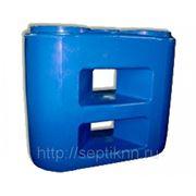 Баки для воды и топлива SLIM. Прямоугольные емкости из пластика. фото