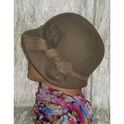 Шляпа ретро фетр 177-1 фото