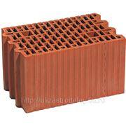 Блок керамический Porotherm25 фото