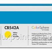 Картридж HP CB542A, для НР Color LaserJet CM1312, CM1312nfi, CP1215, CP1515n ПО фото