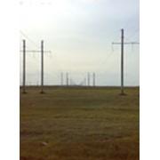 Строительство линий электропередач фото