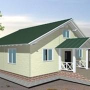 Проект каркасно-панельного дома на 81 м2 фото