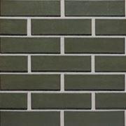 Фасадный кирпич зеленый фото