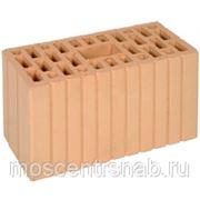 Поризованный керамический блок рядовой двойной wienerberger/винербергер 2,1 НФ PLUS М200. фото
