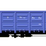 Универсальный полувагон модели 12-9763-01 фото