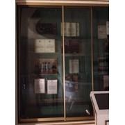 Изготовление раздвижных витрин фото