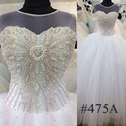 Свадебное платье № 465А фото